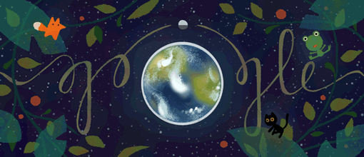google doodle world earth day 2017