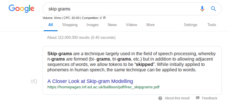 google crawls pdf files for featured snippets